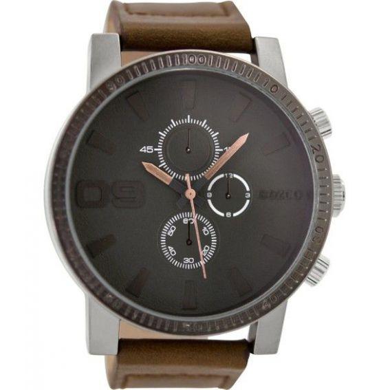 Montre Oozoo Timepieces C9032 brown/grey - Montre de la marque Oozoo