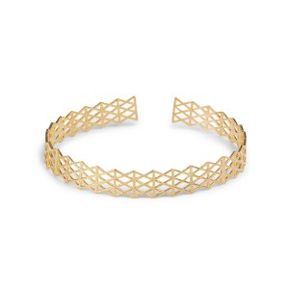 Bracelet 7bis dentelle losange - Bijoux et bracelets de la marque 7bis
