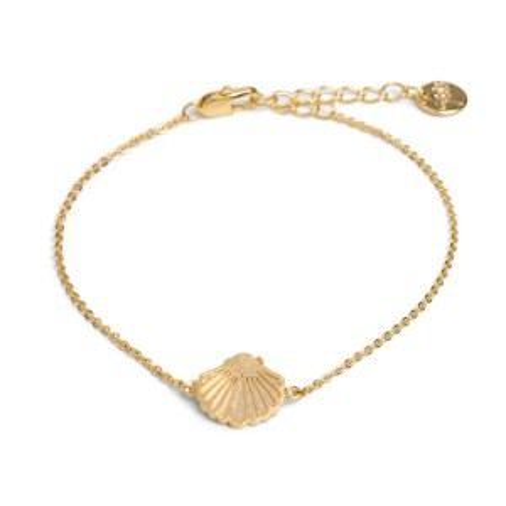 Bracelet 7bis Coquillage doré - Bijoux et bracelet de marque 7bis