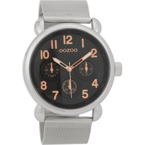 Montre Oozoo Timepieces C9614 silver/black - Marque Oozoo