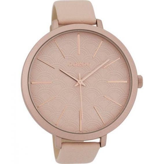 Montre Oozoo Timepieces C9675 powder pink - Montre de la marque Oozoo