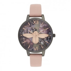 Montre Twilight à nacre mauve et cadran Demi - Montre (watch) Olivia Burton