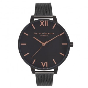 Olivia Burton - IP Watch with Milanese wristband After Dark