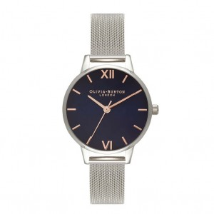 Olivia Burton - Strap Watch Milanese money
