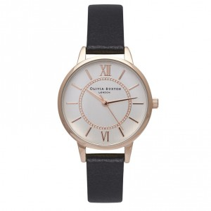 Olivia Burton - Watch mixed metal rose gold and silver