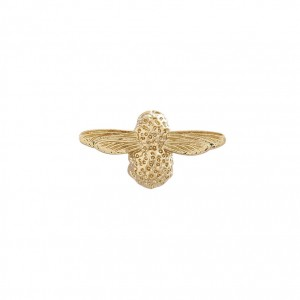 Broche Bee Or