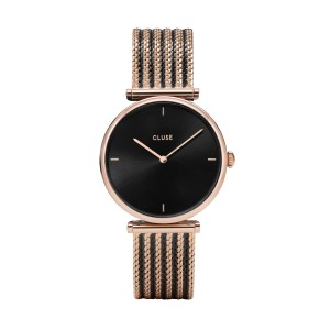 Cluse - Watch CLUSE - Triumph Bicolor Rose Gold Black Black