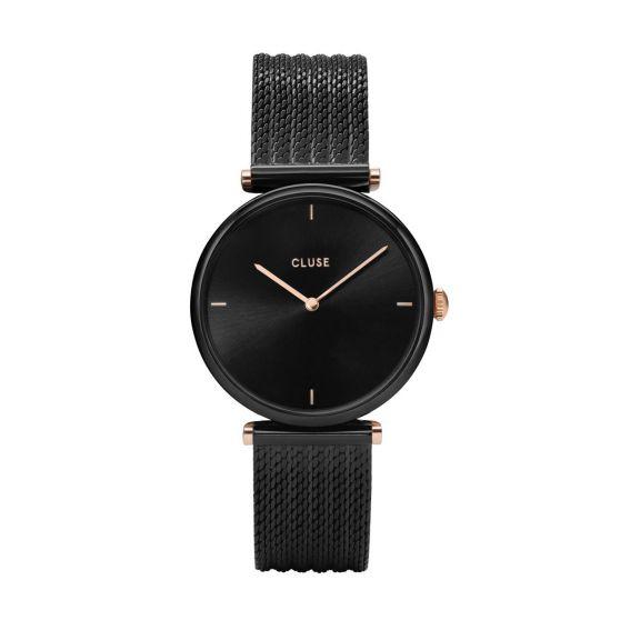 Cluse - Watch CLUSE - Triumph Mesh Black / Black