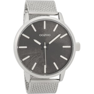 Montre Oozoo Timepieces C9655 silver/black - Marque Oozoo