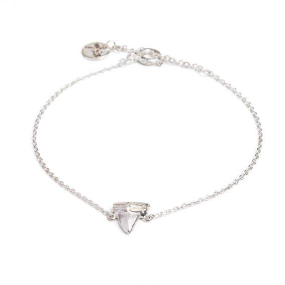 Bracelet 7bis dent de requin argenté - Bijoux et bracelet marque 7bis