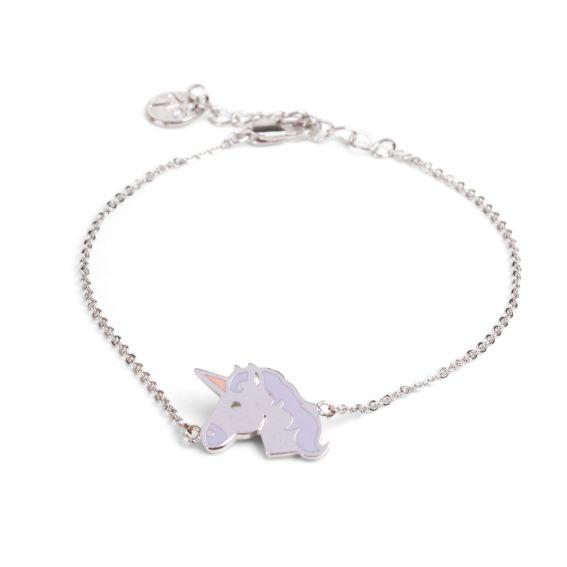 Bracelet 7bis Licorne émaillée - Bijoux et bracelets de marque 7bis