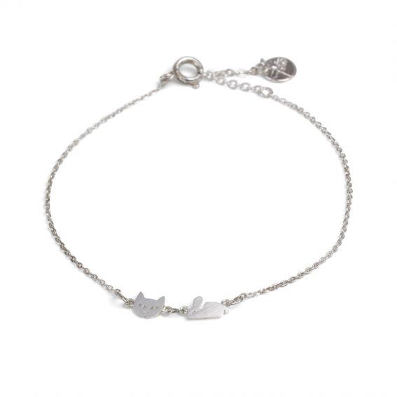Bracelet 7bis Chat & souris - Bijoux et bracelets de marque 7bis