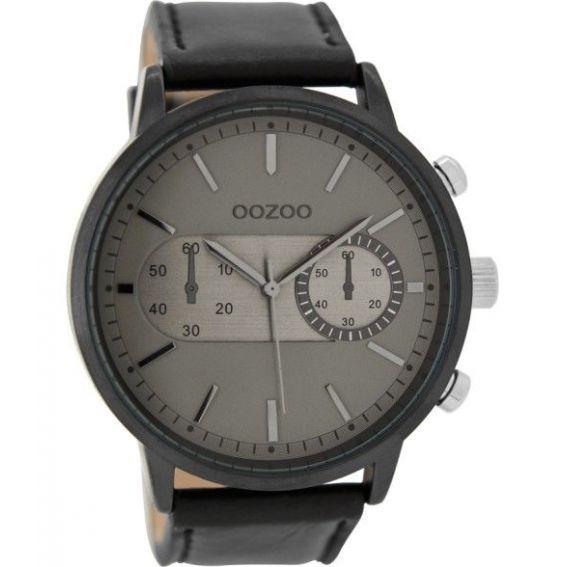 Montre Oozoo Timepieces C9058 Black/Grey - Montre de marque Oozoo