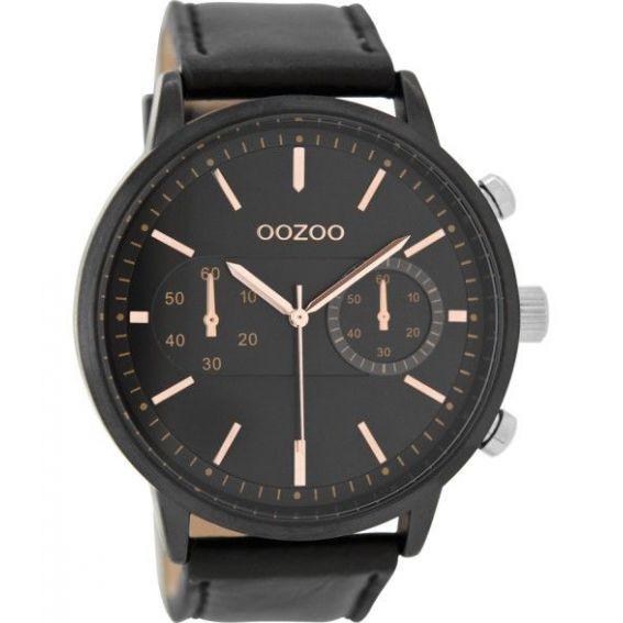 Montre Oozoo Timepieces C9059 Black Rose Gold - Montre de marque Oozoo