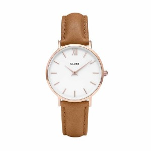 Cluse - Watch CLUSE - Midnight Rose Gold White / Caramel