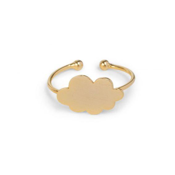 Bague 7bis nuage doré - Bijoux de marque 7bis