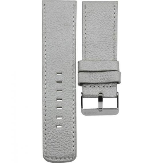 106.26 - metalic silver 26 mm. - Bracelet pour montre Oozoo