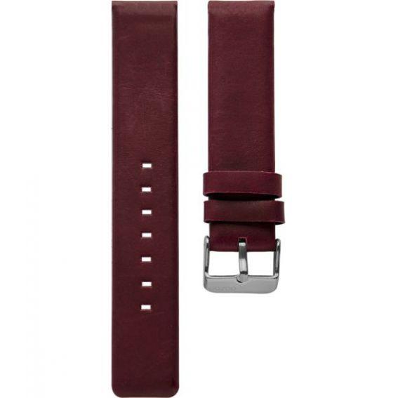 108.12 - burgundy 12 mm. - Bracelet pour montre Oozoo