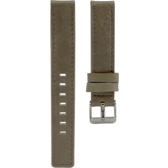 111.16 - taupe 16 mm. - Bracelet pour montre Oozoo