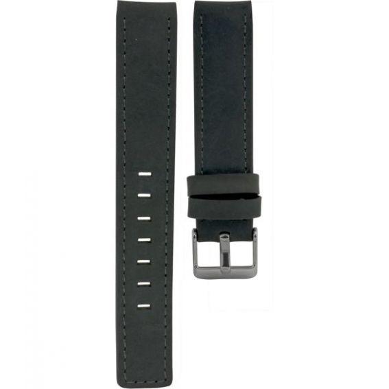 112.16 - blue matt 16 mm. - Bracelet pour montre Oozoo