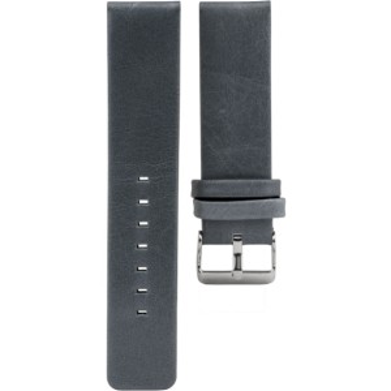 119.22 - aquagrey 22 mm. - Bracelet pour montre Oozoo