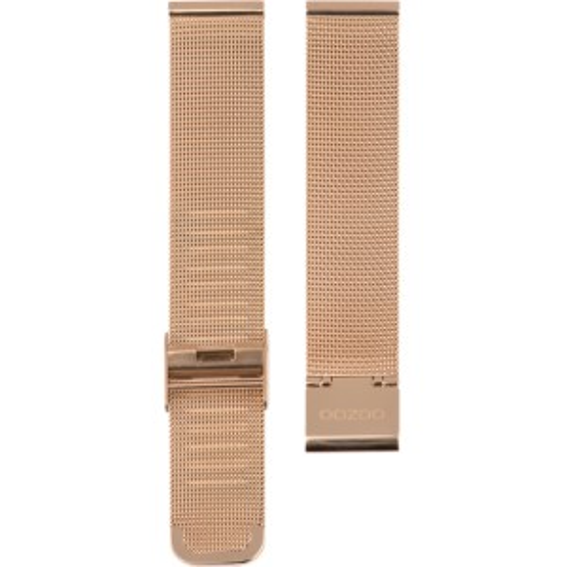 Oozoo - 502.12 - pink mesh 12mm.