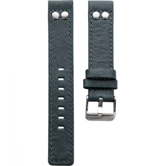 902.20 - blue studs JR 20 mm. - Bracelet pour montre Oozoo