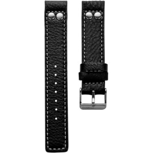 903.20 - black studs JR 20 mm. - Bracelet pour montre Oozoo