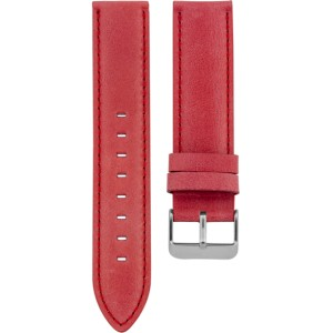 91.20 - coral red 20 mm. - Bracelet pour montre Oozoo