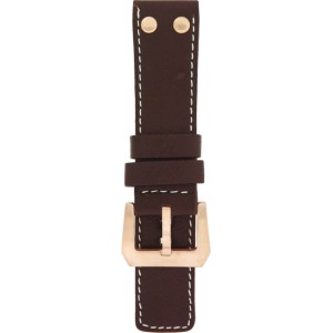 OS10.24 - OS brown studs (r) 24 mm. - Bracelet pour montre Oozoo