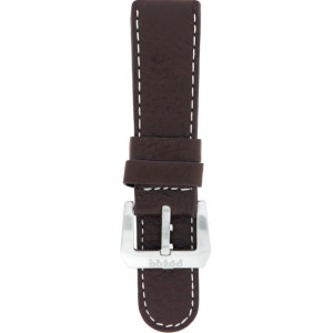 OS7.22 - OS brown 22 mm. - Bracelet pour montre Oozoo