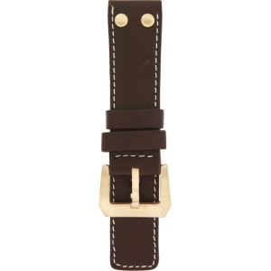 OS9.26 - OS brown studs (g) 26 mm. - Bracelet pour montre Oozoo