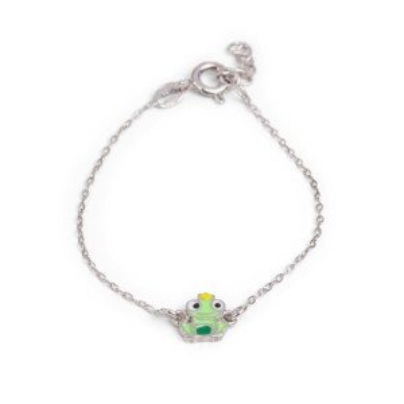 Bijou en argent - toad Prince