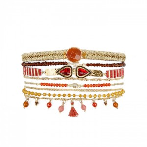 Bracelet Hipanema Splendor Red - Bijoux de la marque Hipanema