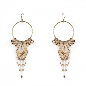 Hipanema - Karibe Earrings White