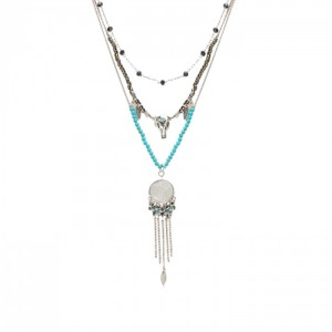 Collier Hipanema Sparrow Silver - Bijoux de marque Hipanema