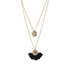 Collier Hipanema Tal Black - Bijoux de marque Hipanema