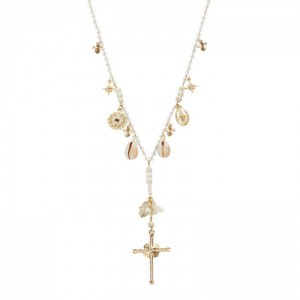 Collier Hipanema Faith White - Bijoux de marque Hipanema