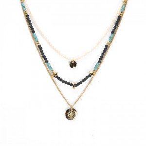 Hipanema - Tikal Gold Necklace