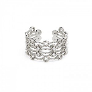 Hipanema - Ring Silver Lace
