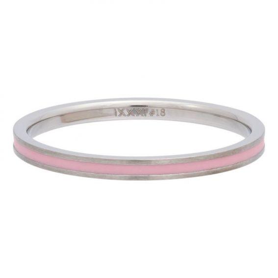 Anneau couvrant ruban rose iXXXi - Bague et bijoux de marque iXXXi