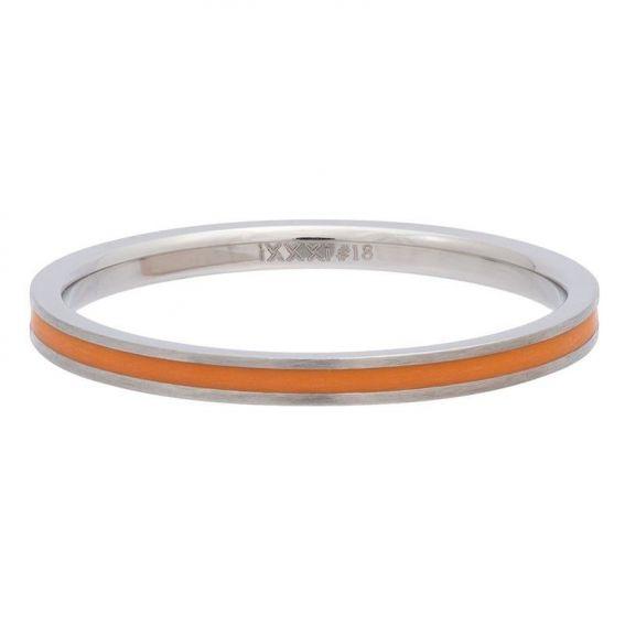 Anneau couvrant ruban orange iXXXi - Bague et bijoux de marque iXXXi