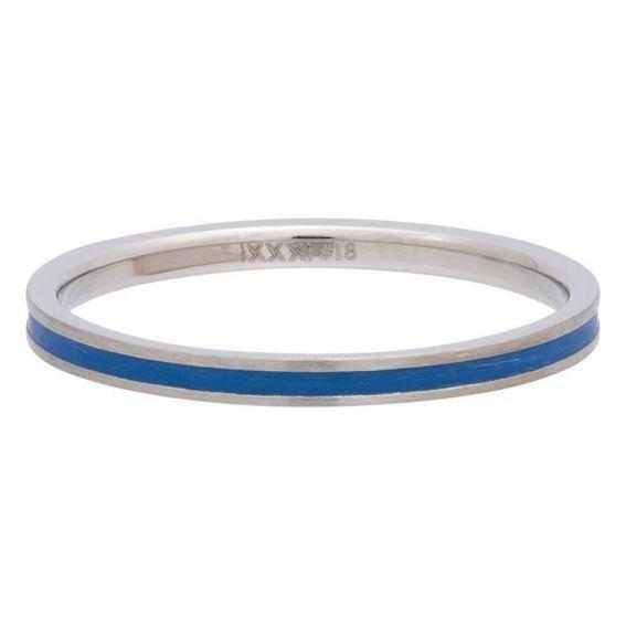 Anneau couvrant ruban bleu iXXXi - Bague et bijoux de marque iXXXi