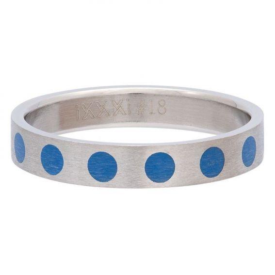 Anneau couvrant points bleus de marque iXXXi - Bagues & Bijoux iXXXi