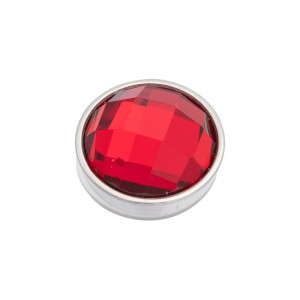 iXXXi - Top shares faceted clear red (Siam)