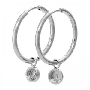 iXXXi - Large Hoop Earrings iXXXi for Top Parts