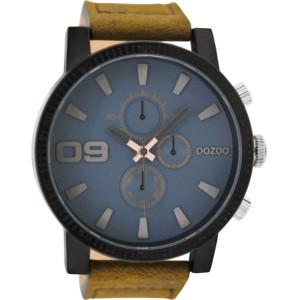 Montre Oozoo Timepieces C9030 brown/bluegrey - Montre de marque Oozoo
