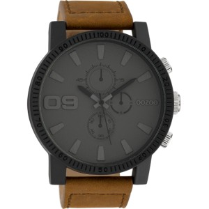 Montre Oozoo Timepieces C10064 brown/darkgrey - Montre de marque Oozoo