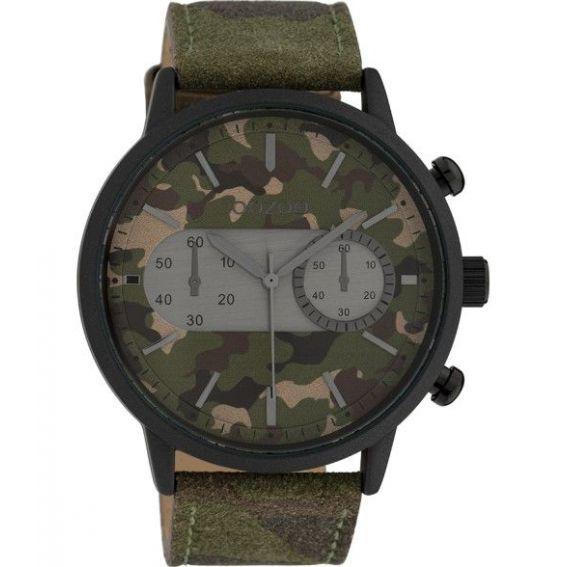 Montre Oozoo Timepieces C10068 Dark Army - Montre de marque Oozoo