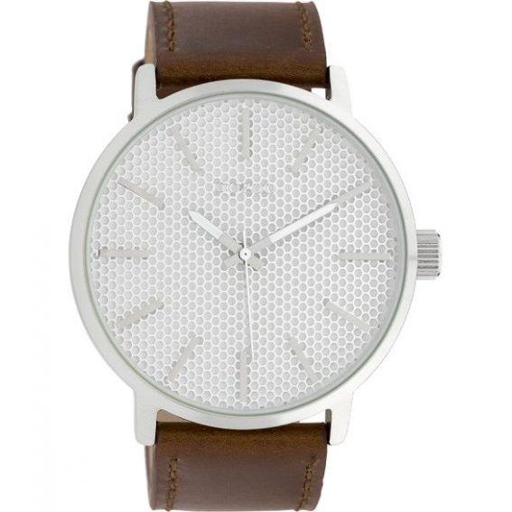 Montre Oozoo Timepieces C10035 brown/silver - Montre de marque Oozoo